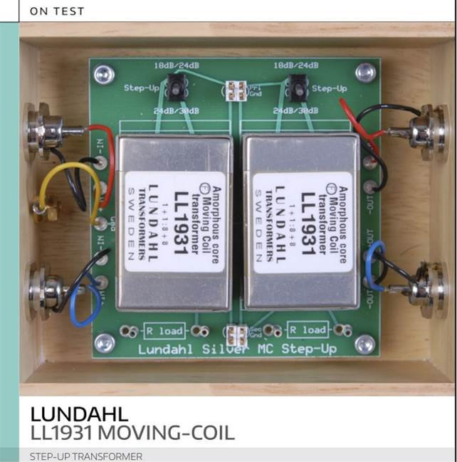 Review of our Moving Coil Step-up Unit