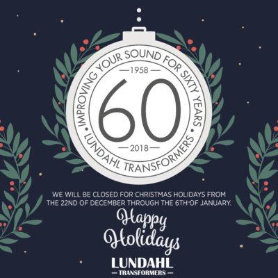 Lundahl Transformers Happy Holiday 2019