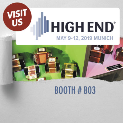 Lundahl Transformers High End Munich 2019 Booth B03